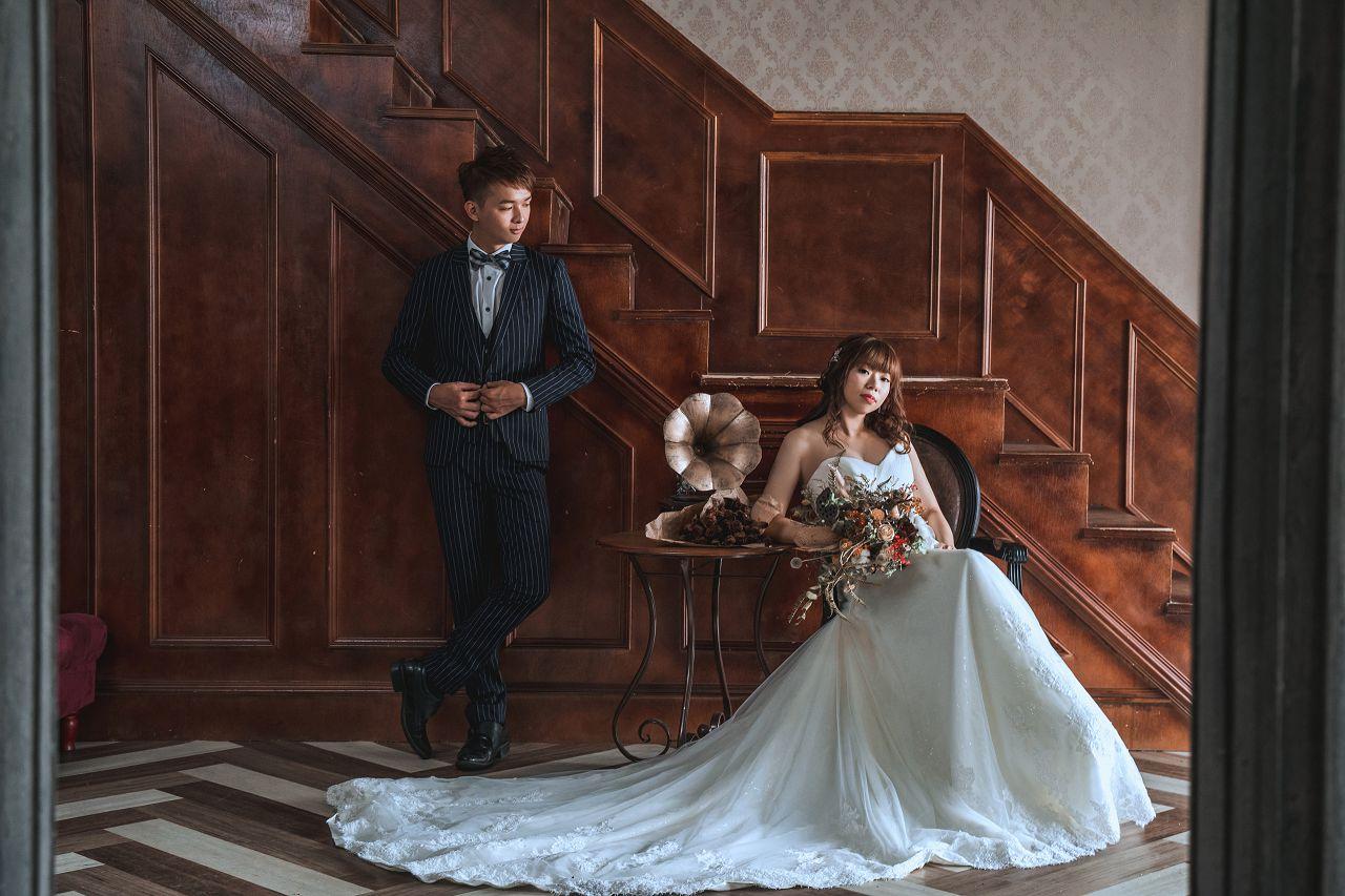 鴻瑋&紅惠 謝謝圈圈婚紗用心的服務